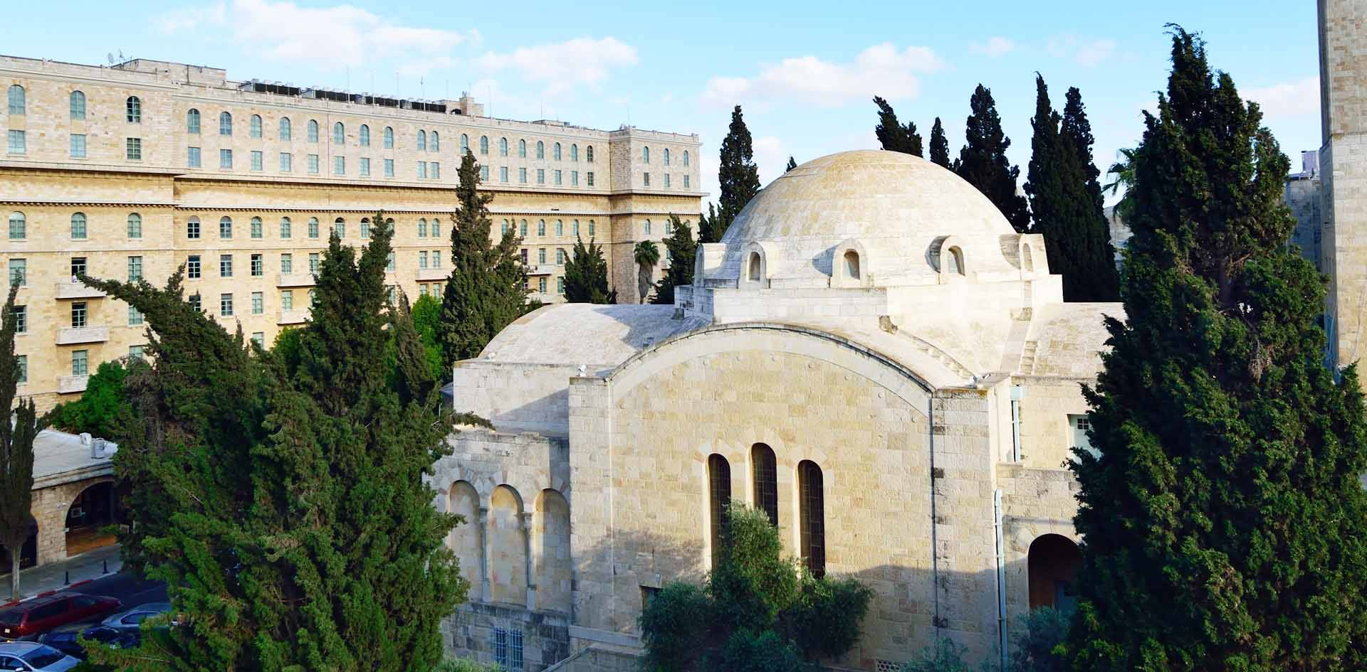 THREE ARCHES HOTEL | top hotels in jerusalem